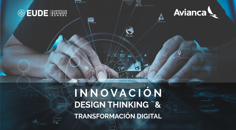 Foto - Webinar 'Innovacion, Design Thinking & Transformación Digital' EUDE-AVIANCA